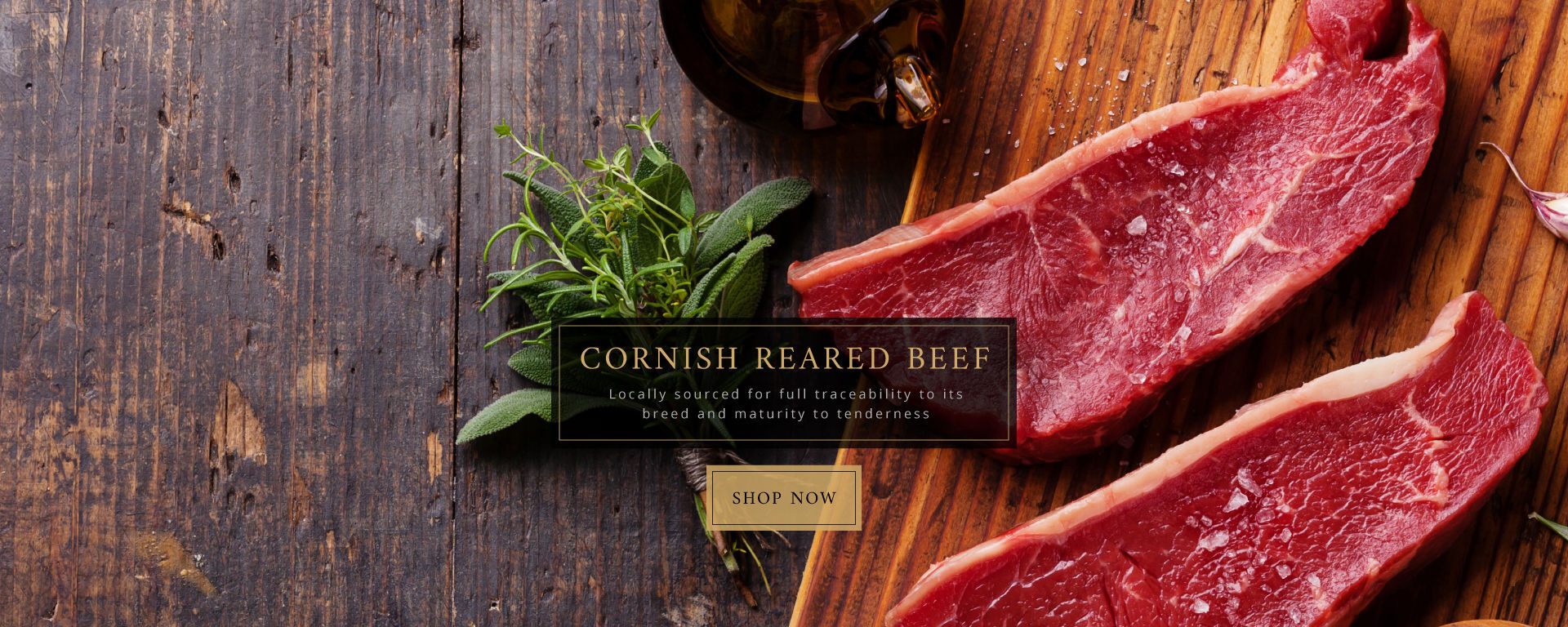 Cornish Reared Beef
