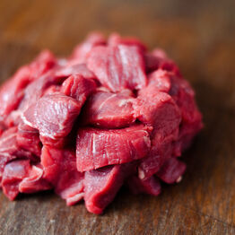 DICED SHOULDER STEAK